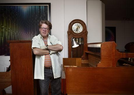 Businessfotografie, Klavierbauer Claus Jacobi Salem, Klavierstimmer, Salem