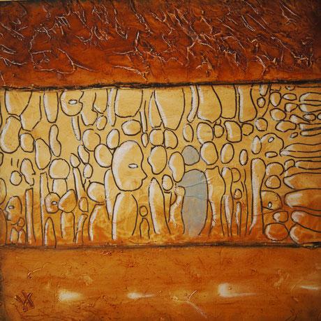 Huiles sur toile 3D 60 x 60