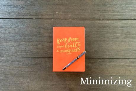 Minimizing - COMING SOON