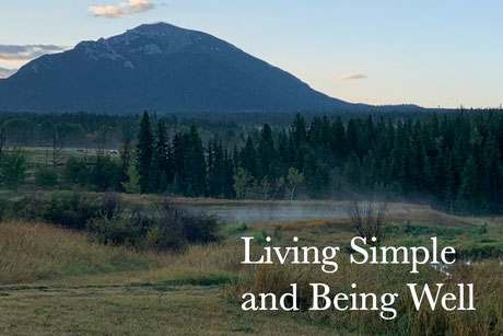 Living Simple and Being Well