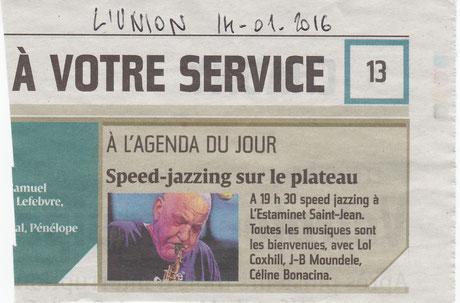 L'Union 14 janv 2016