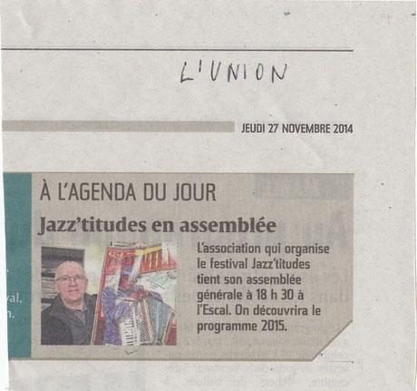 L'Union 27 nov 2014