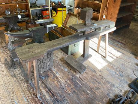 Vintage Carpenter's Shaving Bench $439.00
