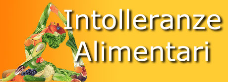 cartello con scritto intolleranze alimentari