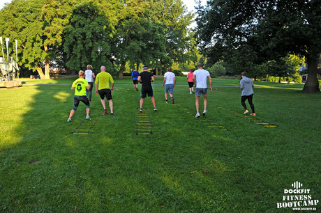 Battleropes, Wilde Seile Outdoor Training Hamburg Altona