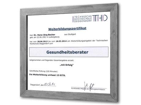 Gesundheitsberater | Zahnarztpraxis Dr. Becker M. Sc. Stuttgart