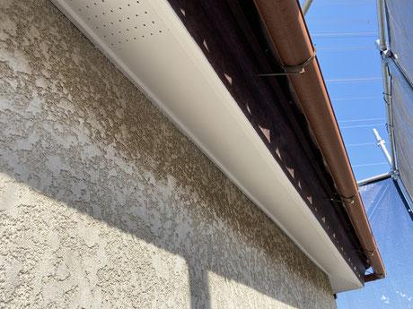 狭山外壁塗装 所沢外壁塗装 塗り替え 軒天 外構 屋根 雨樋