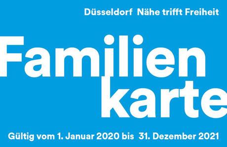 Familienkarte Duesseldorf im Pantakea