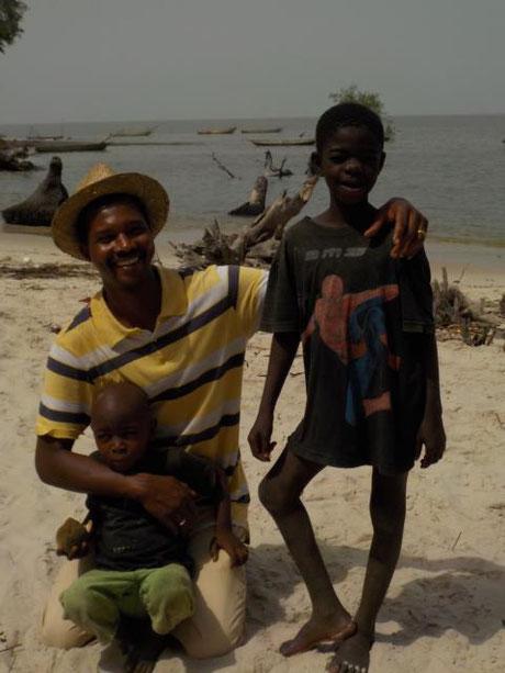 Sadou Diallo, Vizepräsident, Projektleiter in Guinea