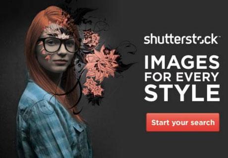 Shutterstock immagini per realizzazione siti web