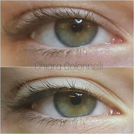 trucco permanente occhi semipermanente tatutaggio eyeliner rima cigliare