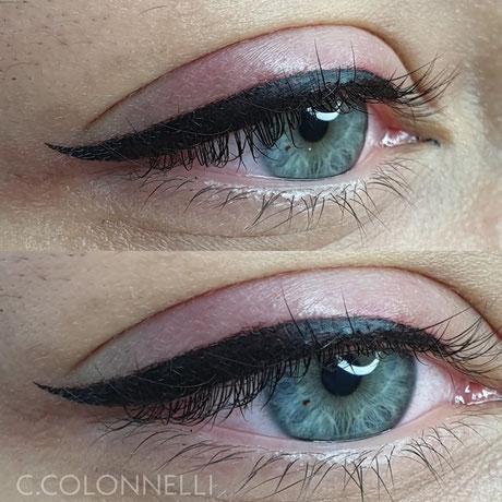 trucco permanente occhi semipermanente tatutaggio eyeliner