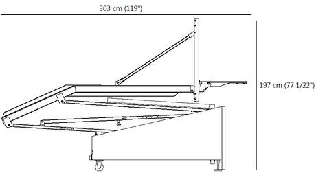 Spalding 2000 Storage Position Footprint