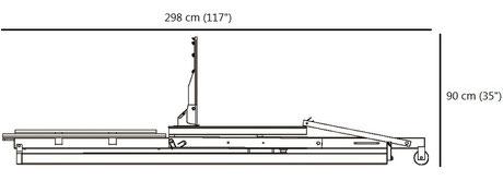 Spalding Street System Storage Position Footprint