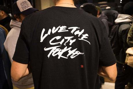 LIVE THE CITY TOKYO(2016)CHROME × 書道家万美