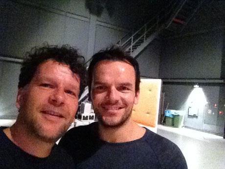 Steffen Henssler und ich beim MDR