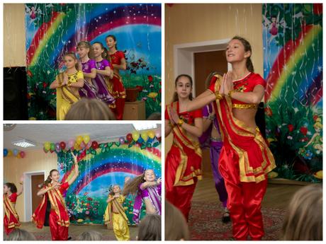 """Гурток """"Колібрі"""". Танець """"Індійські красуні"""""""