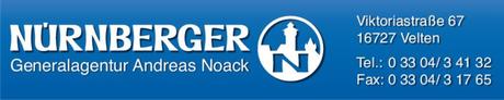 logo des kneipennacht velten sponsors nürnberger versicherungen andreas noack