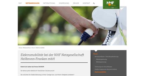 Wallbox anmelden bei NHF