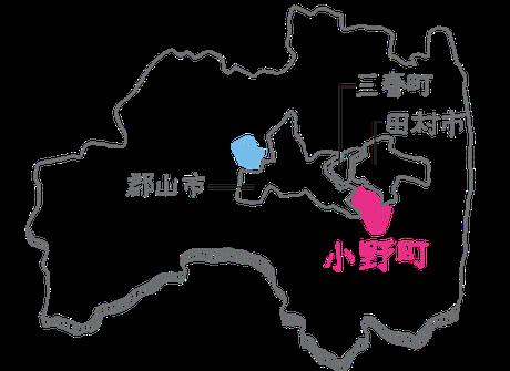 福島県の略地図