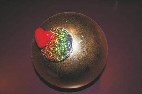 Eizelle mit Verschluss und Blinkherz