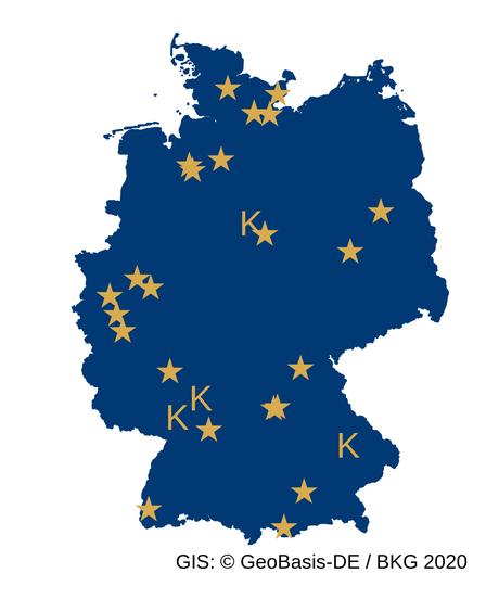 Deutschlandweit würde am 1. Mai für das SOS Kinderdorf bewegt. Auch internationale Teilnehmer aus den Niederlanden und Österreich waren dabei!