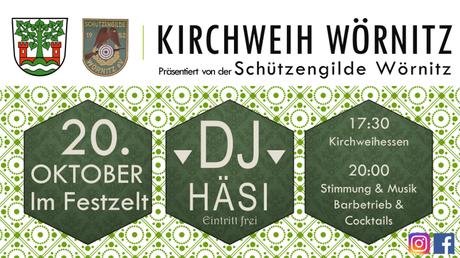 Kirchweih Einladungsplakat 2018