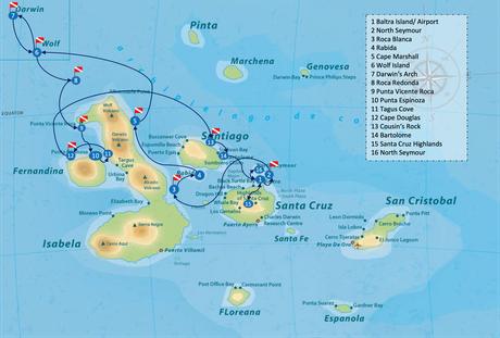 Galapagos Shark Diving - Special 15 day Itinerary