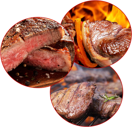 parrillada de carne a domicilio