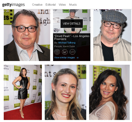 Getty Images at our Red Carpet Premiere for DRUID PEAK and FRAY