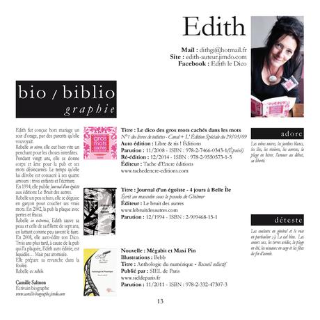 Edith, l'auteur du Dico des gros mots cachés dans les mots. Élu N°1 des livres de toilettes par CANAL +- Daphné BÜRKI, l'Edition Spéciale du 29 mai 2009