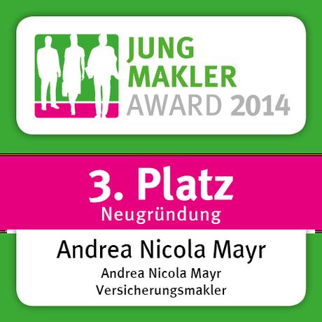 Jungmakler Award, Gewinnerin, Unternehmerin