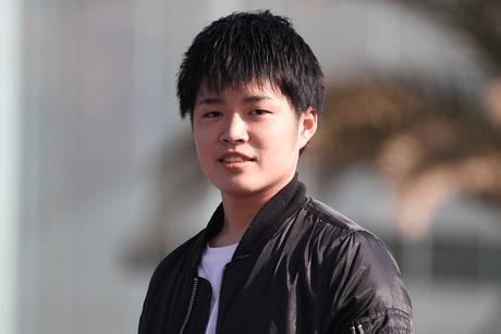 動物危機管理学科 2年生 前田幸宏さん