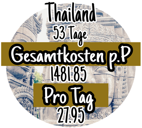 Reisekosten in Thailand