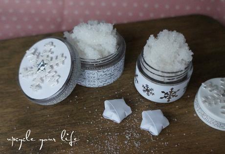 selbstgemachtes vanille-peeling...