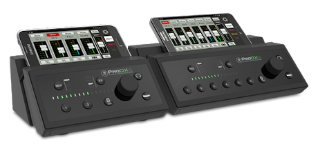 Mixing: Mackie ProDX8 und QSC Touchmix