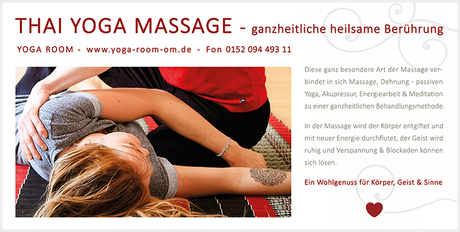 Thai Yogamassage im Yoga Room Chemnitz