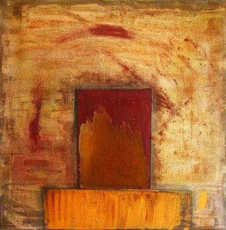 Artigkeit, Claudia Karrasch, Bonn, 3 -01 - Rost, Acryl, auf Leinwand, 50 X 50 cm