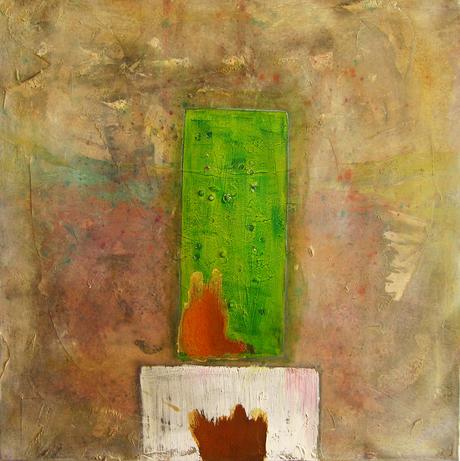 Artigkeit, Claudia Karrasch, 3 -02 - Rost, Acryl, auf Leinwand, 50 X 50 cm