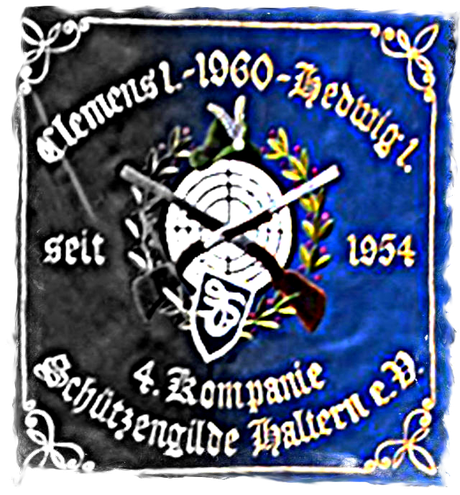 Bild: Standarte der 4. Kompanie