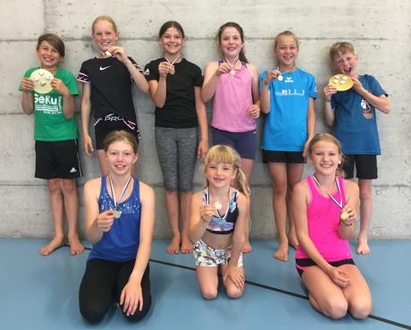 Im Training wurde noch die Rangverkündigung von der Jugendmeisterschaft Napf in Luzern und und den Verbandsmeisterschaften in Kerns nachgeholt.