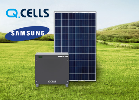 Kit FV  4KW - Q.cells con Q.Home 3.6 e batterie Samsung