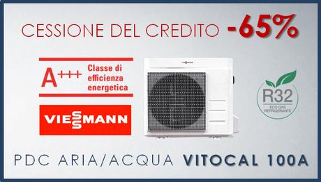 Viessmann Vitocal 100A con cessione del credito