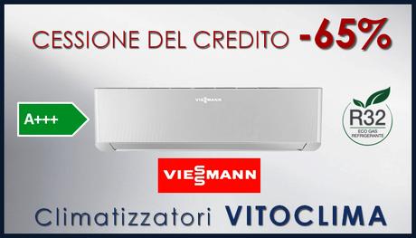 Viessmann Vitoclima con cessione del credito climatizzatori