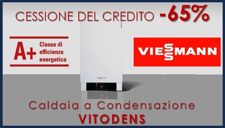 Viessmann Vitodens con cessione del credito caldaia a condensazione