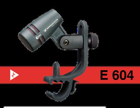 sennhesier, E604