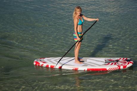 Stand up paddling auf Mallorca