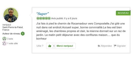 Sur Tripsadvisor, La Mérelle de Collonges-la-Rouge n'a que des excellents avis. Merci , on vous attend en Vallée de la Dordogne, l'étonnant voyage