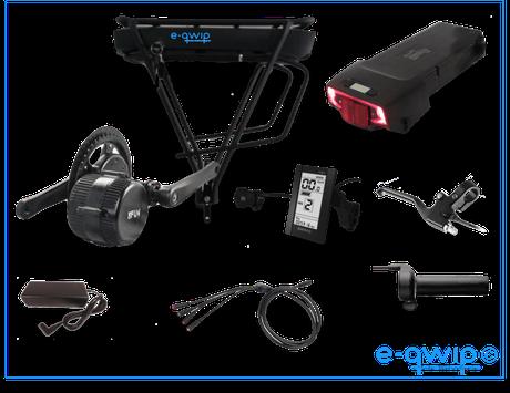 E-qwip Middenmotor Ombouwset