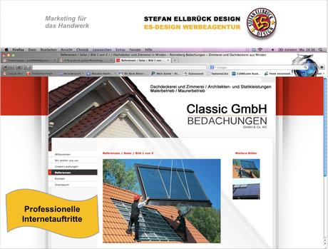 Marketing für das Handwerk © STEFAN ELLBRÜCK DESIGN
